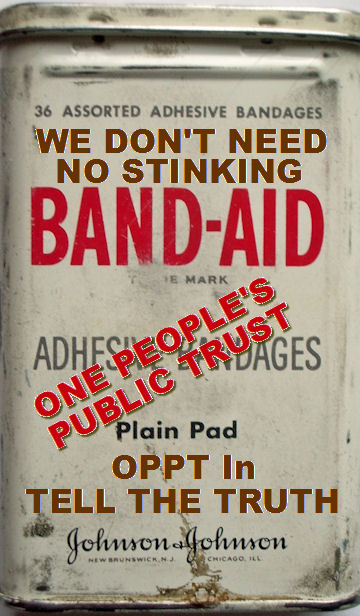 We Don't Need No Stinking Band-Aid