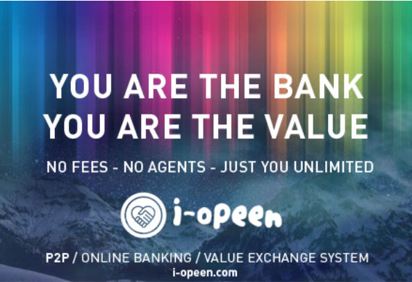 You are the bank